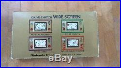 OCTOPUS OC-22 1981 Nintendo game and Watch boxed