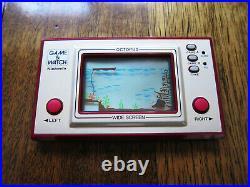 Octopus (OC-22) Nintendo Game & Watch in Excellent Condition