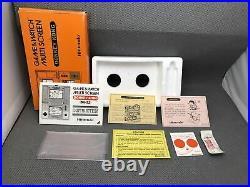 Original Nintendo Game & Watch Donkey Kong Dk 52 Near Mint In Box For Sale