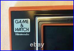 Original Nintendo Game & Watch Fire Attack ID 29 Near Mint In Box For Sale