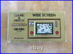PARACHUTE PR-21 1981 NINTENDO GAME AND WATCH boxed