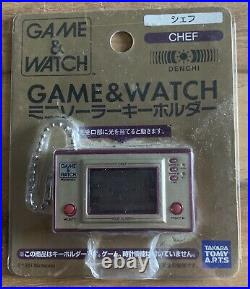Porte-clef Nintendo Game and Watch Chef (Répliques Non Jouables)