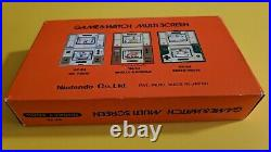 Possibly unused Nintendo Donkey Kong Game & Watch