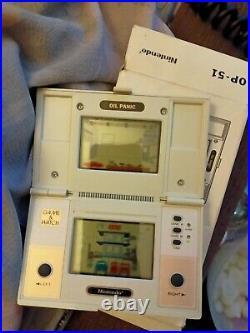 RARE Complete Nintendo Game & Watch Oil Panic 1982