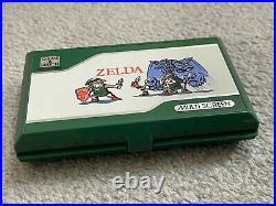 RARE NINTENDO GAME & WATCH ZELDA ZL-65 1989 EXCELLENT Collectors Mint
