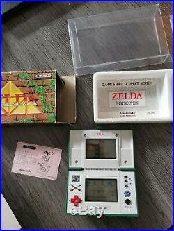 RARE Nintendo Game & Watch Zelda ZL-65 Multi Screen 1989 very good condition