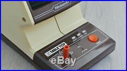 RARE Nintendo Game & Watch jeu electronique 1983 Table Top CJ-71 Donkey Kong JR