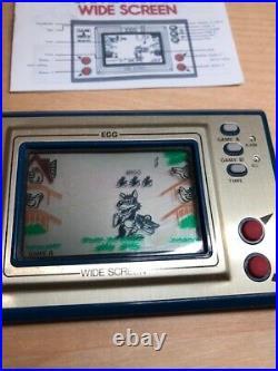 RARE Original Nintendo Game & Watch EGG (EG-26) 100% Functional
