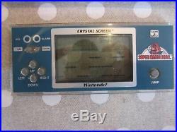 RARE game watch nintendo crystal screen Super Mario Bros YM-801 YM 801 YM801 TOP
