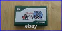 Rare Authentic Zelda Game and Watch ZL-65 Multiscreen 1989 Vintage Made in Japan