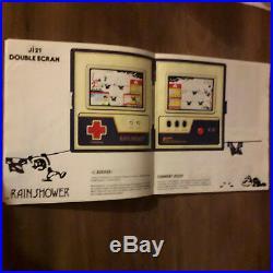 Rare Catalogue Game & Watch Ji21 Nintendo 1983-1984