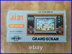 Rare! JI21 FIRE ATTACK French! NINTENDO 1981 GAME AND WATCH (FORT APACHE)