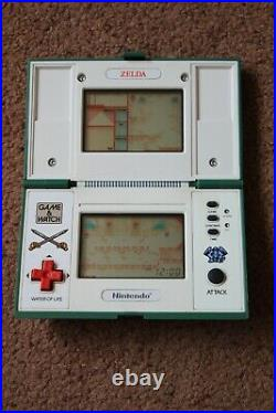 Rare Nintendo Game & Watch Zelda Zl-65 1989 Vgc