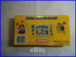Rare Super Mario The Juggler Game Watch Japan Free Shipping