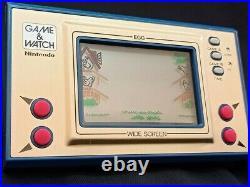 Retro Nintendo Game and Watch Egg (EG-26) 1981s Working
