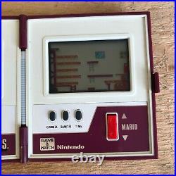 Retro Nintendo Mario Bros Game & Watch Multi Screen Boxed Working VGC