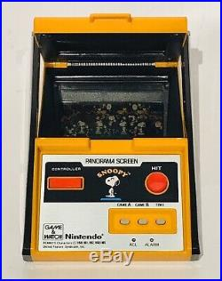 Snoopy Nintendo Game & Watch Panorama Screen 1983 SM-91 Retro