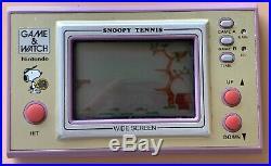 Snoopy Tennis Game & Watch Widescreen 1982 Sp-30 Original Batt Cover