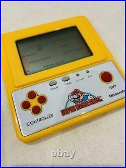 Super Mario Bros GAME WATCH Famicom Grand prix F1 Racing Prize EMS F/S