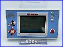 Super Mario Bros. (Game & Watch, 1988) YM-105 with Box and Foam Insert RARE GOOD