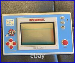 Super Mario Bros. Game and Watch Nintendo Vintage 1988 YM 105 Works Perfect