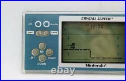Super Rare Nintendo Game & Watch CRYSTAL SCREEN SUPER MARIO 1986 BROS. YM-801