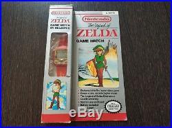 The Legend Of Zelda Game Watch Red Reloj Zelda Nintendo 1989