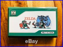The Legend of Zelda Game & Watch Clamshell Electronic LCD Nintendo VG Rare