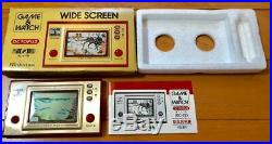 USED Nintendo Game & Watch OCTOPUS JAPAN GW G and W Very Rare import