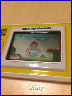 Ultra Rare Nintendo Game&Watch Mario The Juggler MB-108 Vintage 1991 LCD