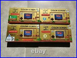 Ultra rare! ALL 12 Variants of the Nintendo Super mario bros game and & watch