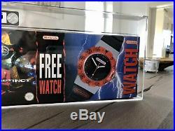 VGA Killer Instinct Sonderedition Free Watch 85 Silber Nintendo SNES Nes Gameboy