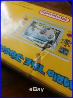 VINTAGE VERY RARE 1991 MARIO THE JUGGLER, GAME AND WATCH, Nintendo, MB 108, VGC