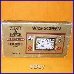 Vintage 1981 Nintendo Game & Watch Parachute Pr-21 Single Screen Handheld Boxed