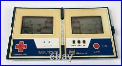 Vintage 1983 Nintendo Game & Watch Rain Shower Multi Screen Tested & Working