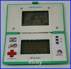 Vintage 1987 Bomb Sweeper Nintendo Game and Watch Fully Working VGC Bombsweeper
