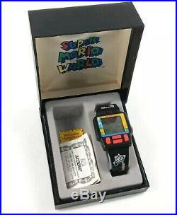 Vintage 1991 Nintendo Super Mario World Game Watch Nelsonic Rare Never Used