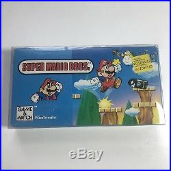 Vintage Hand Held 1988 Super Mario Bros JAPAN YM-105 Electronic Game and Watch