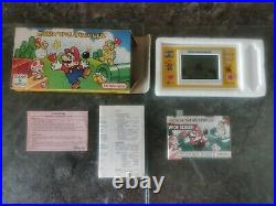 Vintage Mario The Juggler Game and Watch 1991