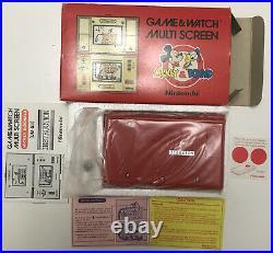 Vintage Nintendo Dm-53 Multi Screen Mickey & Donald Game & Watch Not Workin 1982