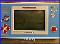 Vintage Nintendo Game And Watch Super Mario Bros. 1988 YM-105