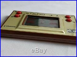 Vintage Nintendo Game & Watch Manhole (utility hole) Console, Manual, Boxed-b417
