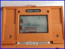Vintage Nintendo Game & Watch Multi screen Donkey Kong, Manual, Boxed set-d0213