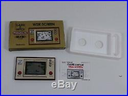 Vintage Nintendo Game & Watch Parachute wide screen PR-21 with instruct & box