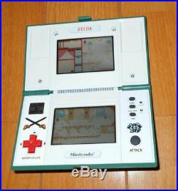 Vintage Nintendo Game Watch Zelda Multi Screen Still Working With Box Rare