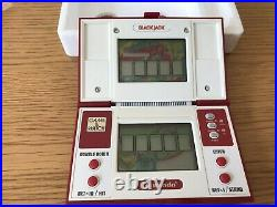 Vintage Retro Nintendo Game & Watch Black Jack Complete & Boxed