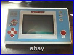 Vintage/ Retro Nintendo Super Mario Bros Game And Watch Boxed and Working