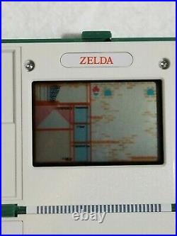 Vintage ZELDA ZL-65 NINTENDO MULTI SCREEN GAME AND WATCH Tested WORKING