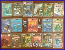 X19 Game & Watch Nintendo Mini Super Mario Bros Oil Panic Tetris Star Trek Zelda