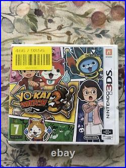 Yo Kai Watch 3 (Nintendo 3DS, 2018) Brand New & Factory Strip Sealed Rare